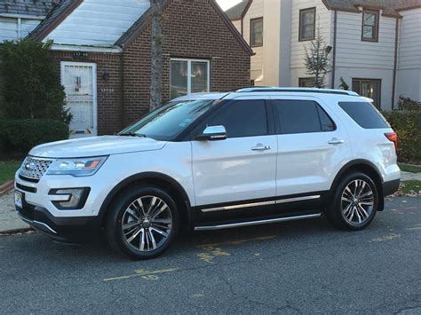 white explorer platinum   ford