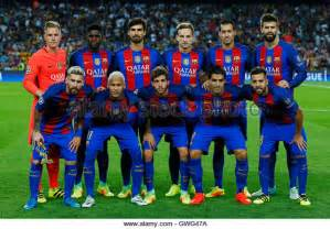 FC Barcelona Team Line Up
