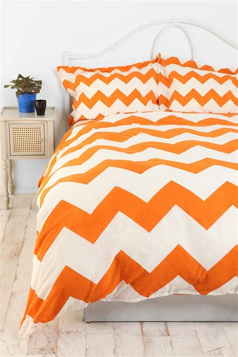 orange duvet cover decorate your bedroom with stylish duvet covers design