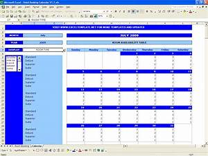 booking calendar excel templates With availability template excel