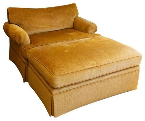 large chenille club chair and ottoman 4 149 est retail
