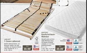 Aldi Matratze Wann Im Angebot : aldi living style 7 zonen lattenrost 80x200 140x200 180x200 cm ~ Watch28wear.com Haus und Dekorationen