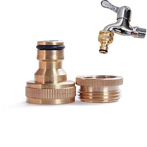 1/2 Or 3/4 Inch Brass Garden Faucet Water Hose Tap