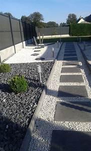 les 25 meilleures idees de la categorie chemin de gravier With idee deco jardin gravier 4 ma terrasse renovee