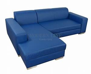 20 collection of blue leather sectional sofas sofa ideas With sectional sofa built in tables