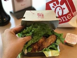 fil a nutrition facts spicy chicken sandwich