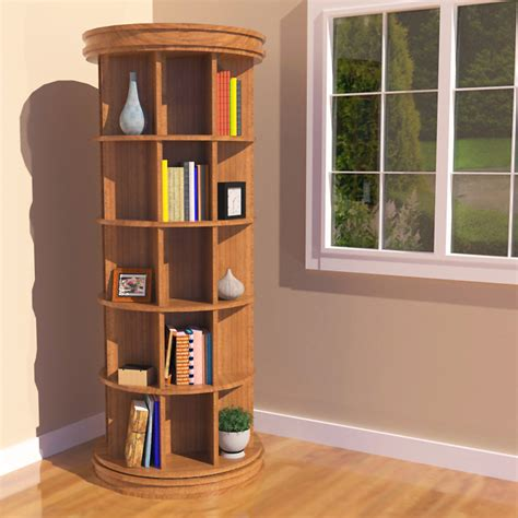 Revolving Bookcase by Revolving Bookcase For Easy Reading And Reasears