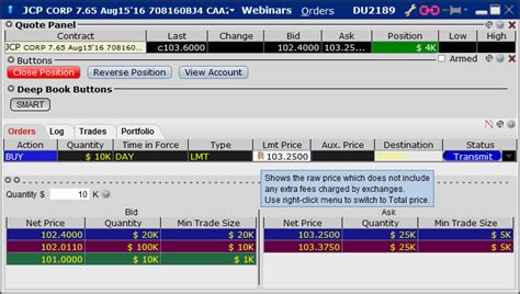 Global Bond Trading - Webinar Notes | Interactive Brokers