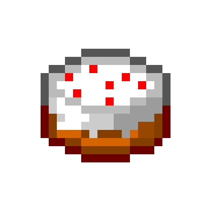 cuisine minecraft pixel minecraft cake cake food minecraft by
