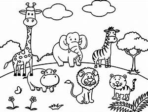 zoo coloring pages printable - zoo scene coloring pages coloring page pedia