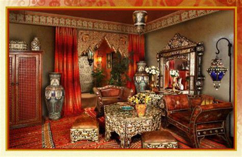 Moroccan Style White Sofa Living Room Decorating Ideas Ceiling For Black Dining Furniture How To Arrange In Small Space Cream Designs Wood Walls Contemporary Rooms Paint Scheme