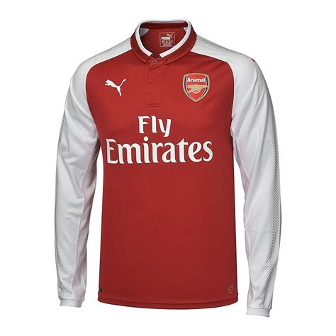 The Football Shirts Book The Connoisseur S Guide Arsenal 17 18 Kid 39 S Ls Home Shirt Official Store