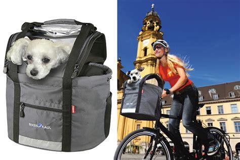 carrello porta cani per bici la borsa porta animali per biciclette dottorgadget