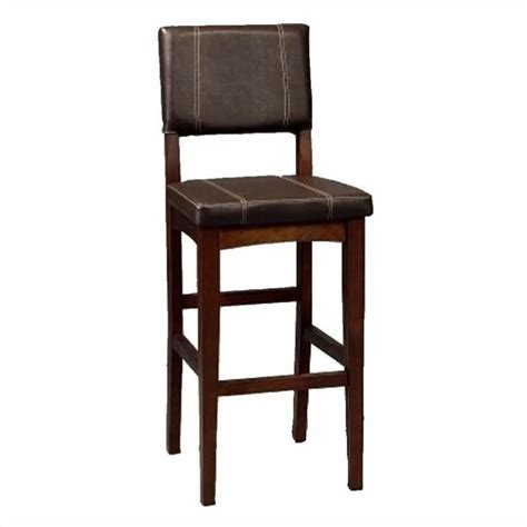 30 bar stools without back linon 30 quot bar stool with back without arms no 7320