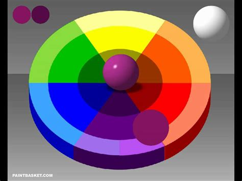 color wheel chart mixing theory painting tutorial youtube