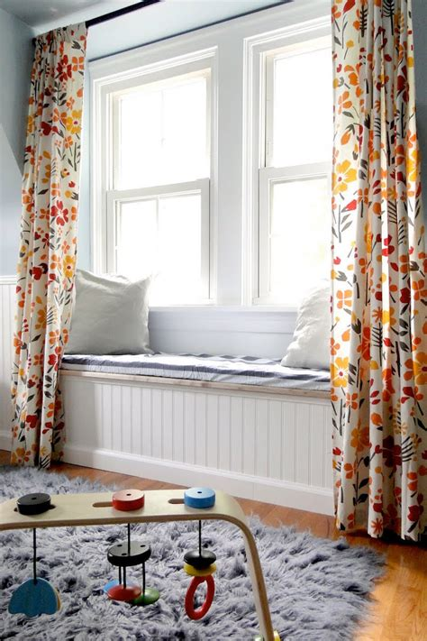 window seat curtains banc d int 233 rieur au rebord de la fen 234 tre 40 id 233 es chic en