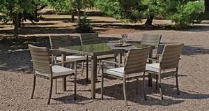 Table A Manger Jardin : table manger et fauteuils jardin abasari ~ Melissatoandfro.com Idées de Décoration
