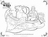 Canoe Coloring Printable Wild Call Activity Sheets Tots Any Disney sketch template