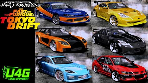 Fast And Furious Tokyo Drift Cars Need For Speed Most