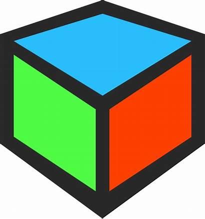 Cube 3d Clipart Icon Clip Ice Cliparts