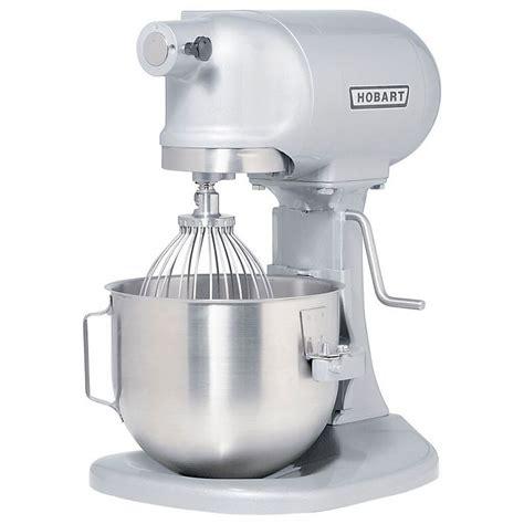 Kitchen Mixer Hobart by Hobart N50 60 5 Qt Planetary Mixer Bench Model 1 6 Hp