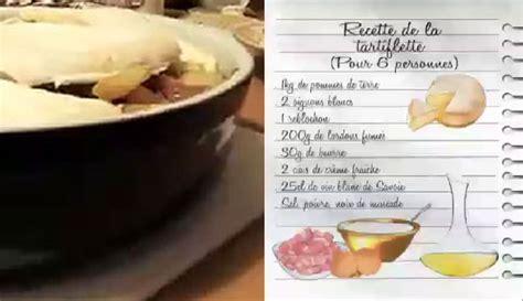 cuisine tartiflette 26122015 lcdj recette de la tartiflette de magalie pdf la