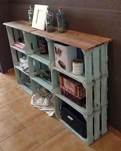 Caisse De Pomme : diy recycler une caisse en bois deco en 40 id es ~ Teatrodelosmanantiales.com Idées de Décoration