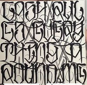 Collection of 25+ Graffiti Alphabet Tattoo Patterns