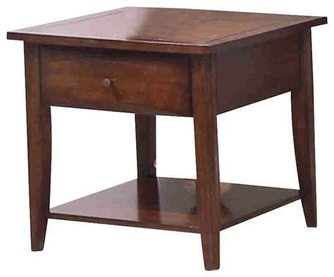 side table with drawer and shelf coaster whitehall end table with shelf and drawer side