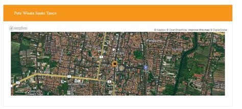 aplikasi  wisata terintergrasi  mapsstudi kasus