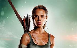Wallpaper Tomb Raider  Alicia Vikander  Lara Croft  Hd