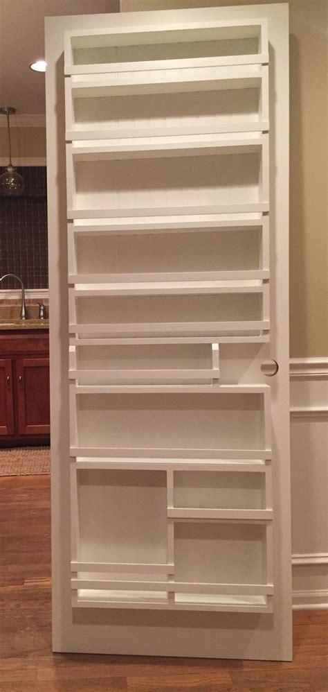 Door Spice Rack Plans by Best 25 Pantry Door Storage Ideas On Pantry