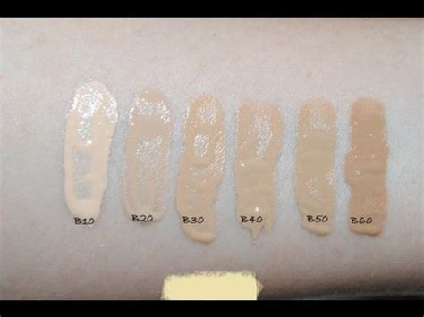 ysl fusion ink foundation color swatch youtube
