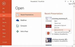 how to clear recent files history in powerpoint word and With recent documents word delete