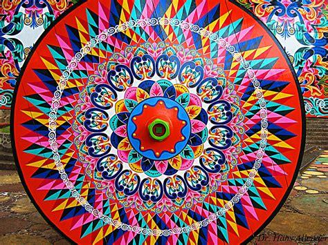 Decorated weel of a wagon (carreta) Costa Rica Dr Hans