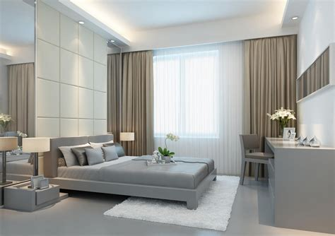 Magnificent Modern Bedroom Curtains Ideas Atzinecom
