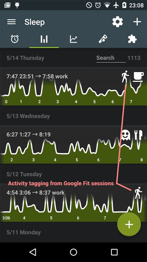 sleep like android sleep as android integrates with fit and adds