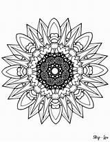 Mandala Coloring Pages Printable Mandalas Colouring Sheets Printables Lou Skip 13th Friday Google Books Designs Marvelous Geometric Colorings Getcolorings Birijus sketch template