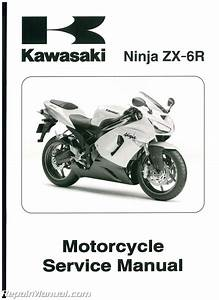 Kawasaki Zx6r Motorcycle Service Manual 2005