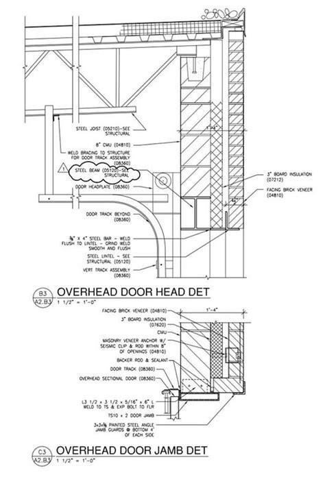 overhead door  masonry overhead door sectional door