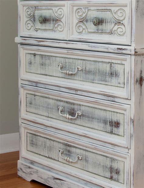 shabby chic finish milk painted shabby chippy chic dresser salvaged inspirations