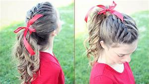 How to: French Braid Ponytail Hair Tutorial ...