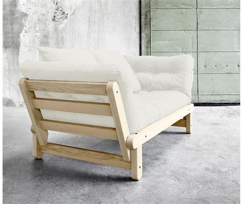 letto futon divano letto futon beat naturale zen pino scandinavo