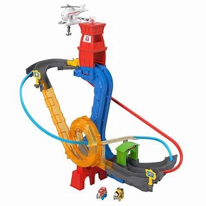 Thomas Minis Friends Rescue Motorized Railway Stunt