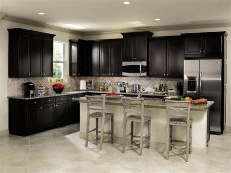 aristokraft wentworth black kitchen cabinets kitchen
