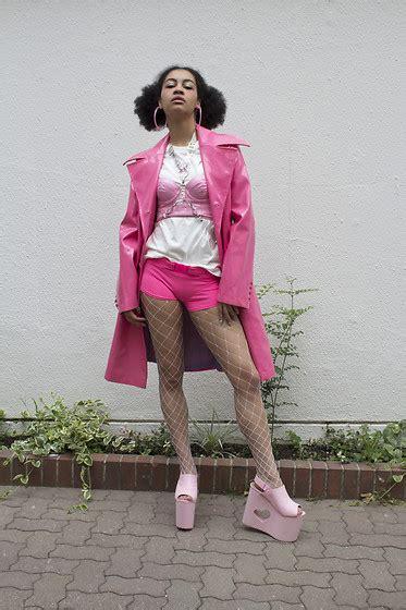 choom chan love pink hate you lookbook