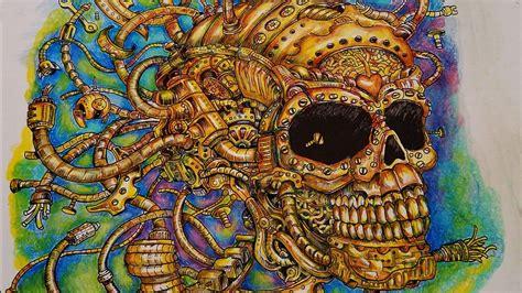 color  world imagimorphia  gold skull kerby