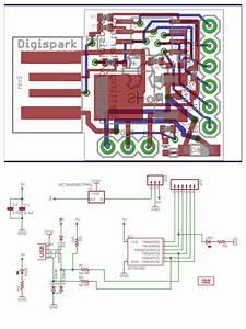 1x Digispark Kickstarter Attiny85 Arduino Micro Usb