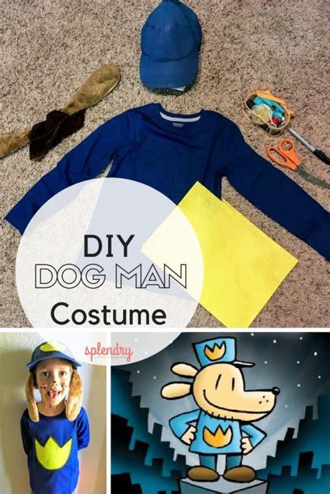 diy dog man costume splendry