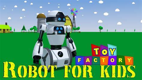 Robot Cartoon For Children